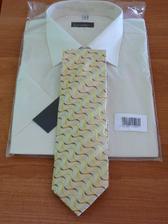 košile s kravatou