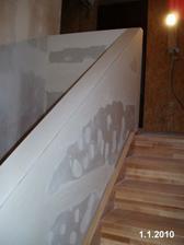 Dodělané schody