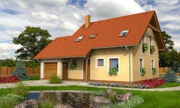 Barevná kompozice domu (ale jiný typ)