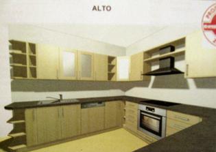 Náše kuchyň - tak nějak bude vypadat, ještě pozměním
