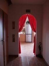 Pohled od vchodu, z chodby