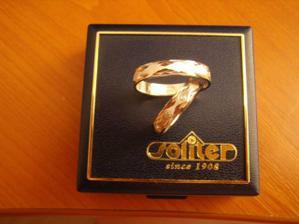 prstýnky - bílé zlato