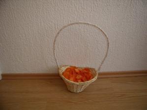 košíček pro drůžičku
