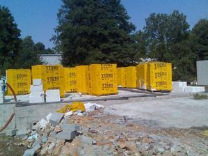 dovezen stavební materiál