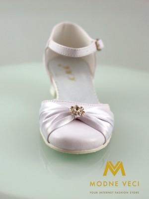 dievčenské biele sandálky na 1.sv. príjmanie 30 - Obrázok č. 2