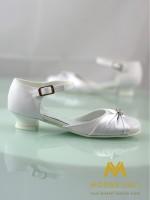 dievčenské biele sandálky na 1.sv. príjmanie 30 - Obrázok č. 3