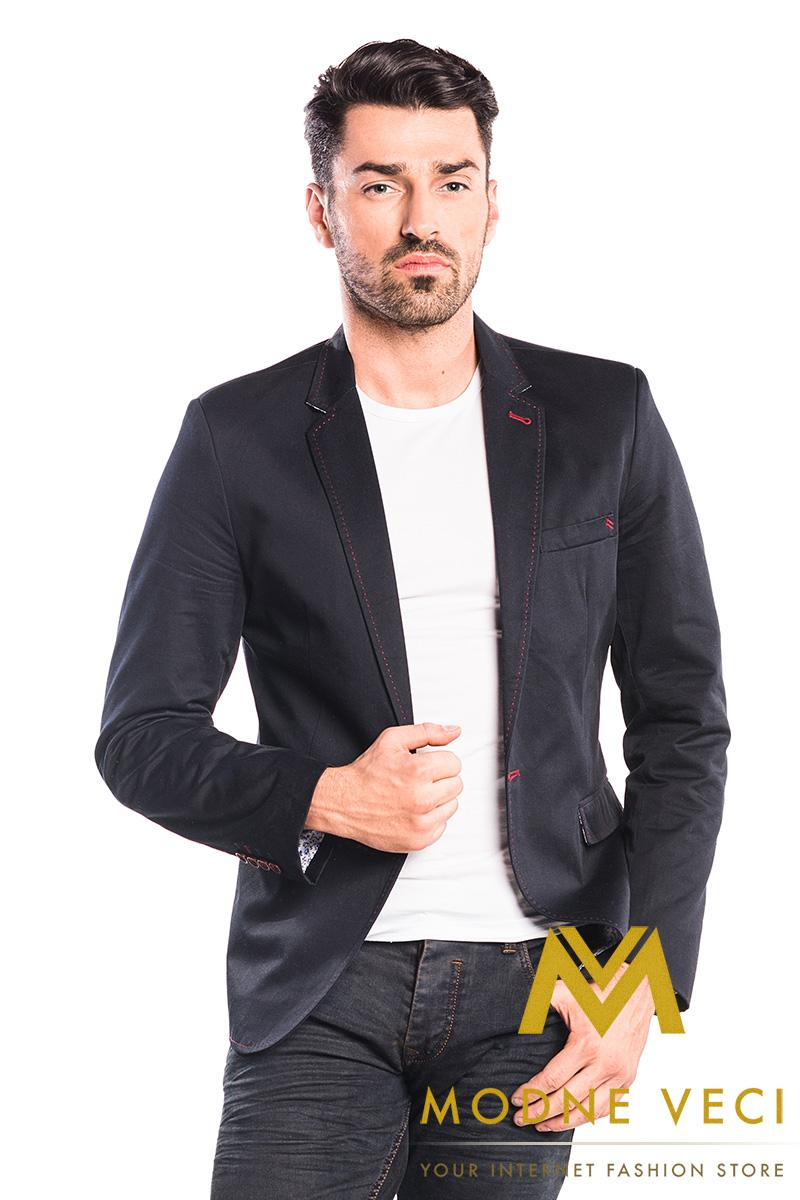 športovo elegantné pánske sako veľkosti XL a  - Obrázok č. 1