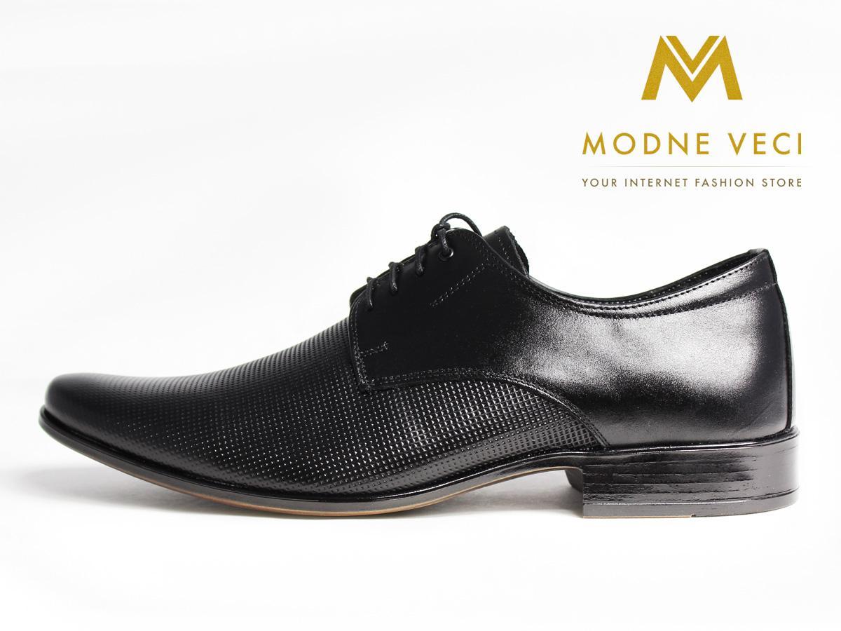 Elegantné topánky - kožené model 215, 39-46 - Obrázok č. 1