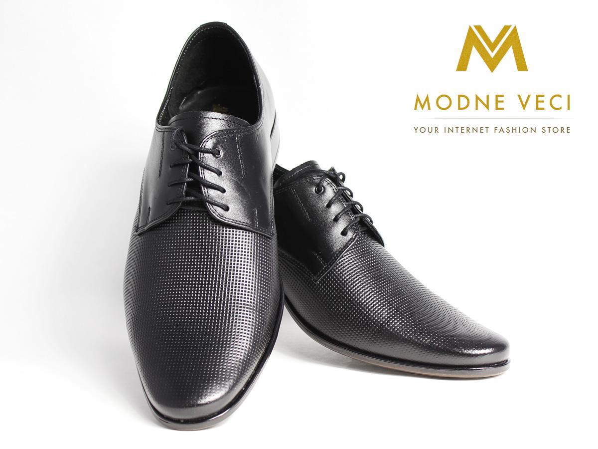 Elegantné topánky - kožené model 215, 39-46 - Obrázok č. 2