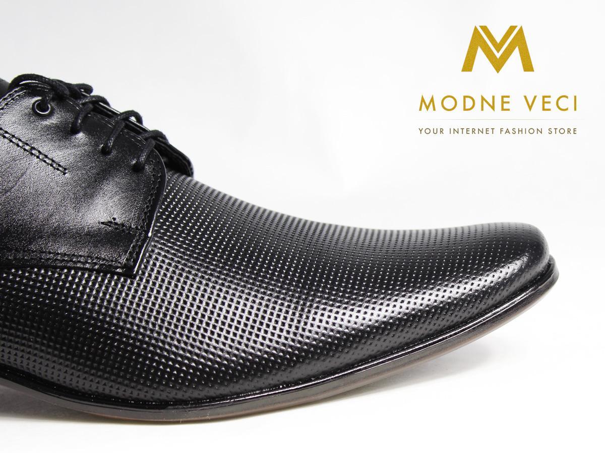 Elegantné topánky - kožené model 215, 39-46 - Obrázok č. 3