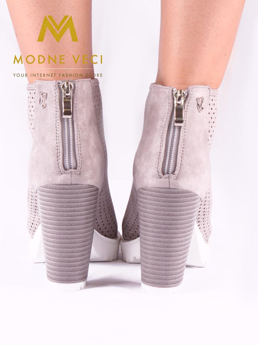Trendy topánky s otvorenou špičkou 35-39 - Obrázok č. 3