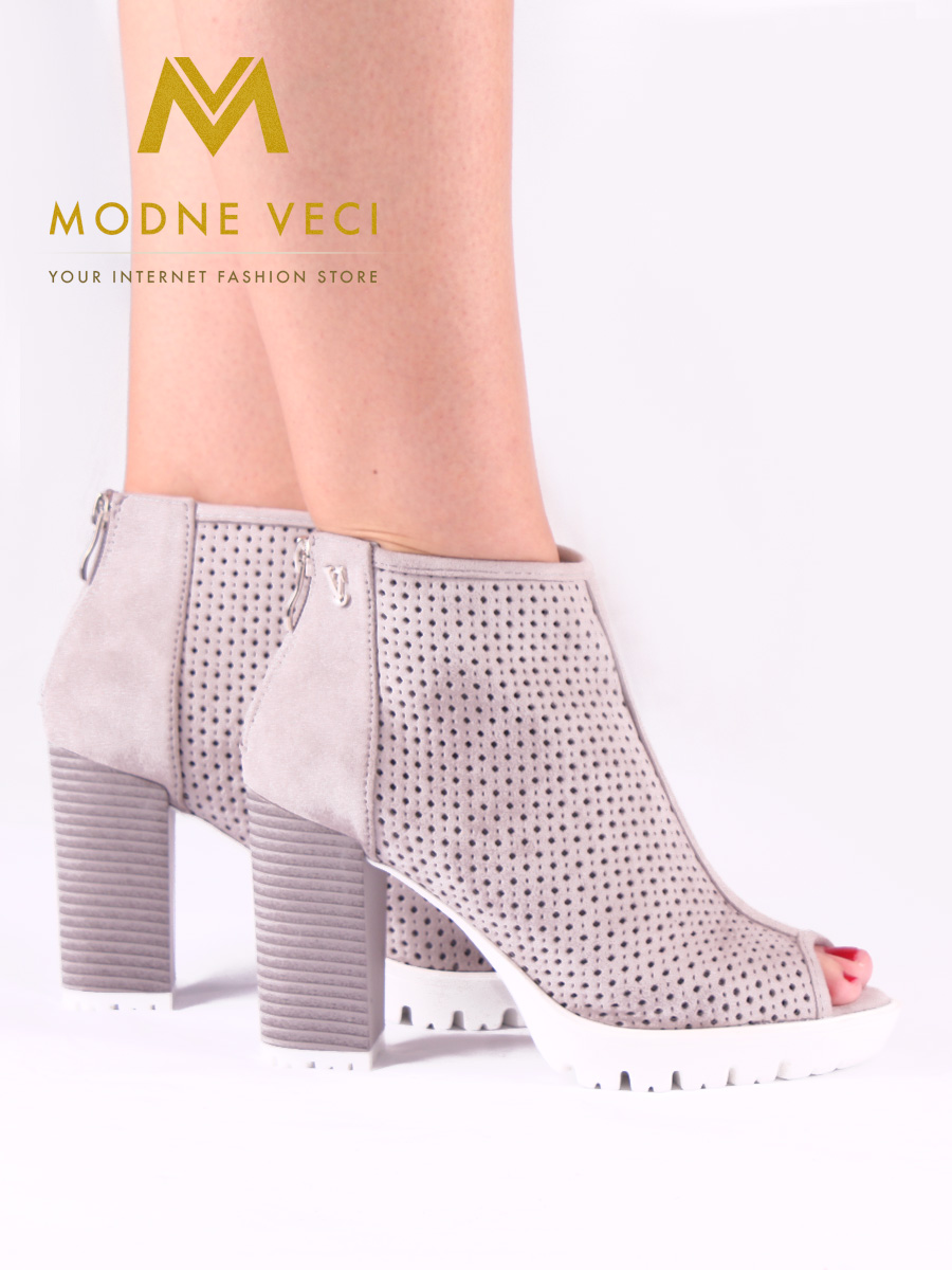 Trendy topánky s otvorenou špičkou 35-39 - Obrázok č. 4