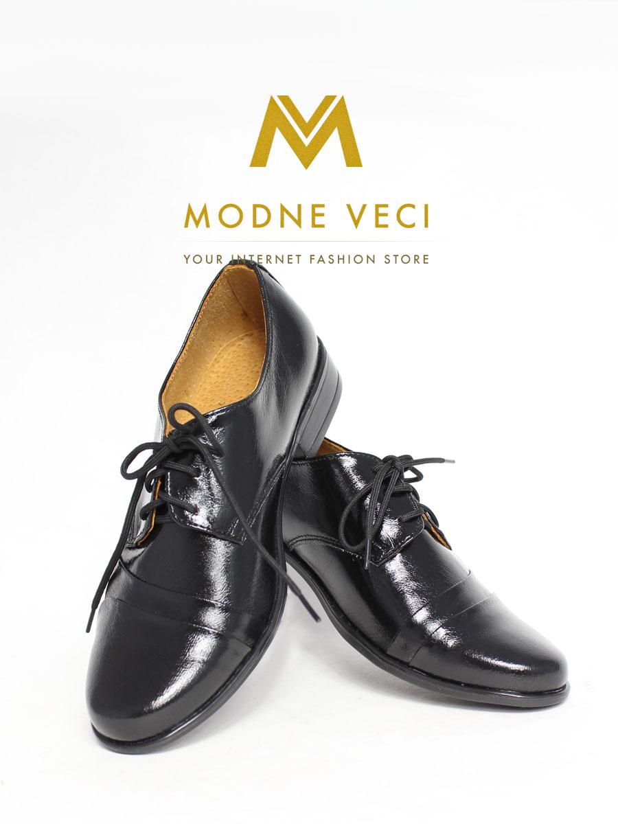 Chlapčenské spoločenské kožené topánky(30-38) - Obrázok č. 2