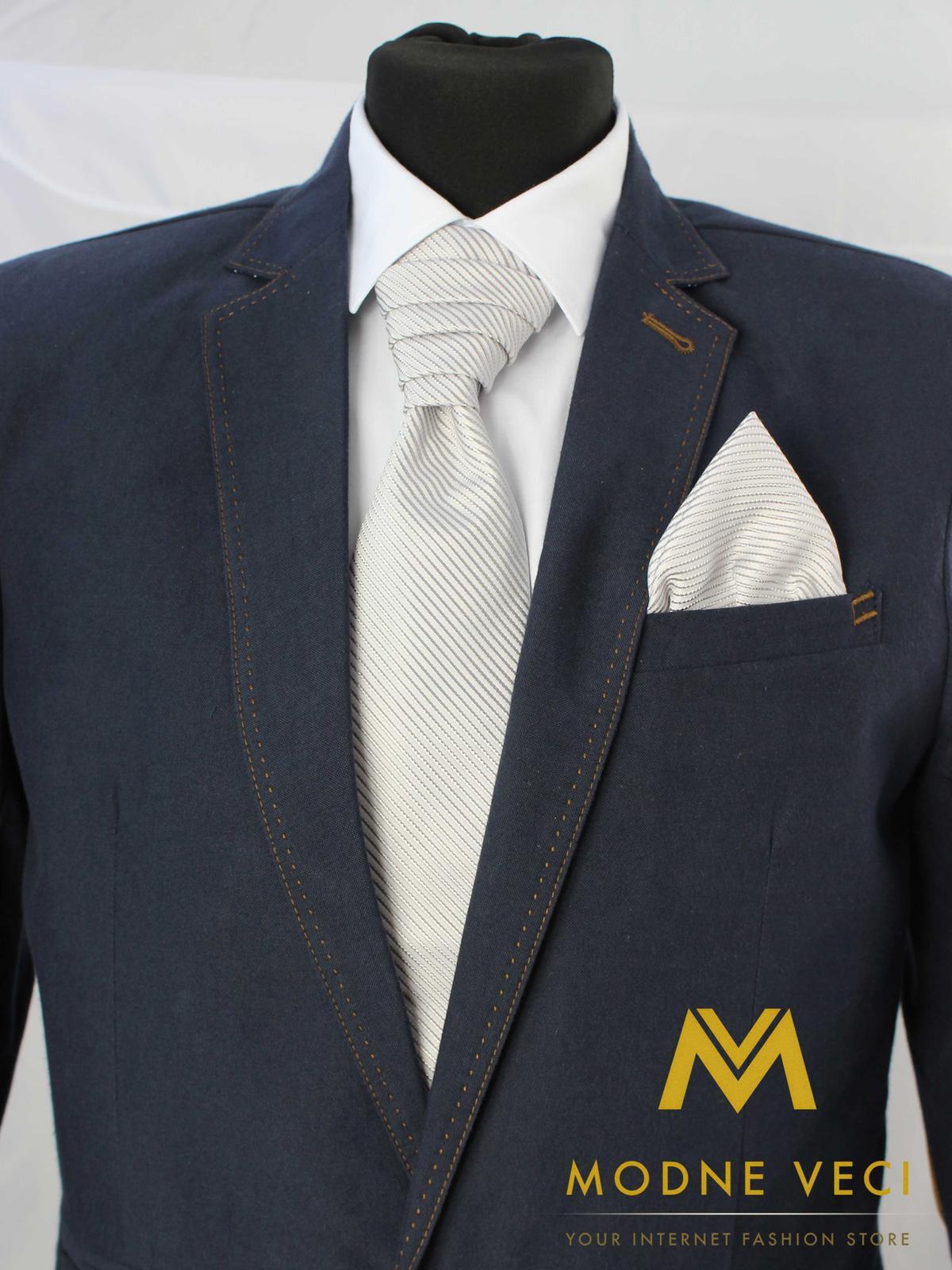 Francúzska kravata skladom model 4 - Obrázok č. 1