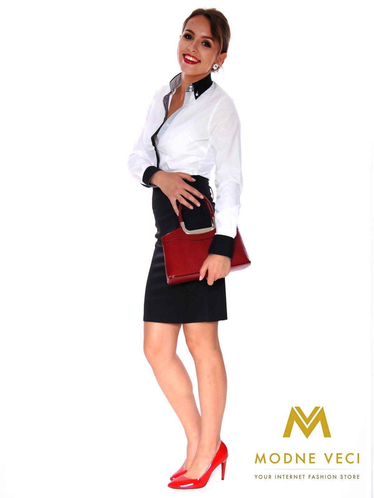 Dámska puzdrová sukňa čierna - Obrázok č. 1