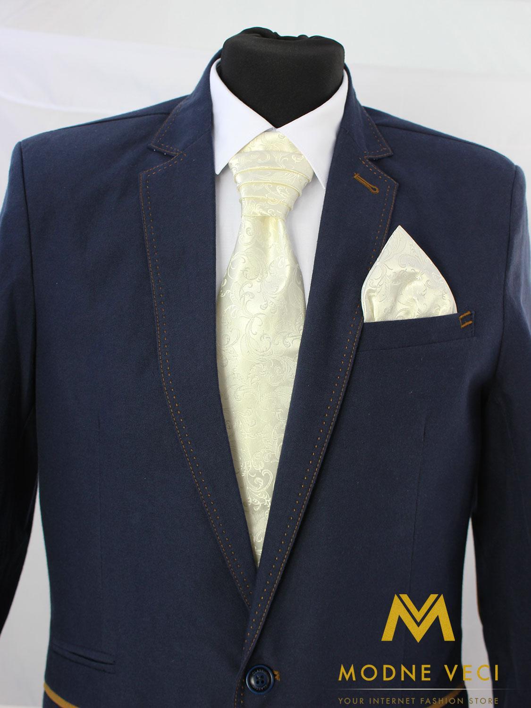Francúzska kravata skladom model 10 - Obrázok č. 1
