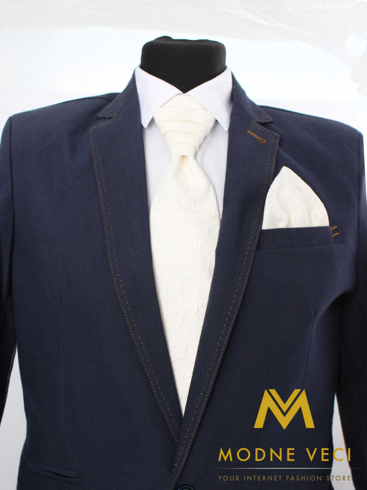 Francúzska kravata skladom model 17 - Obrázok č. 1