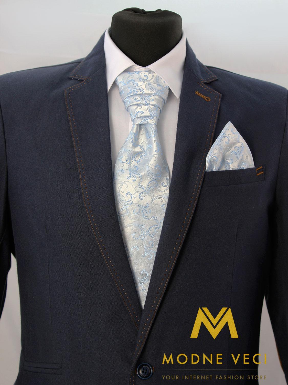 Francúzska kravata skladom model 18 - Obrázok č. 1
