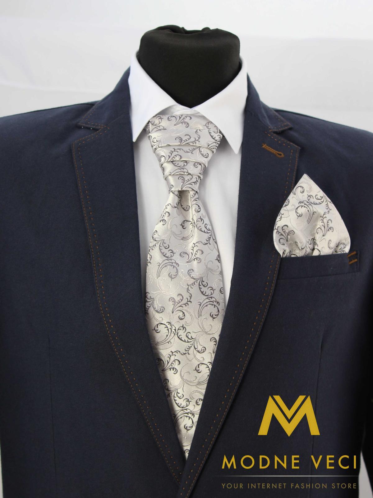 Francúzska kravata skladom model 20 - Obrázok č. 1