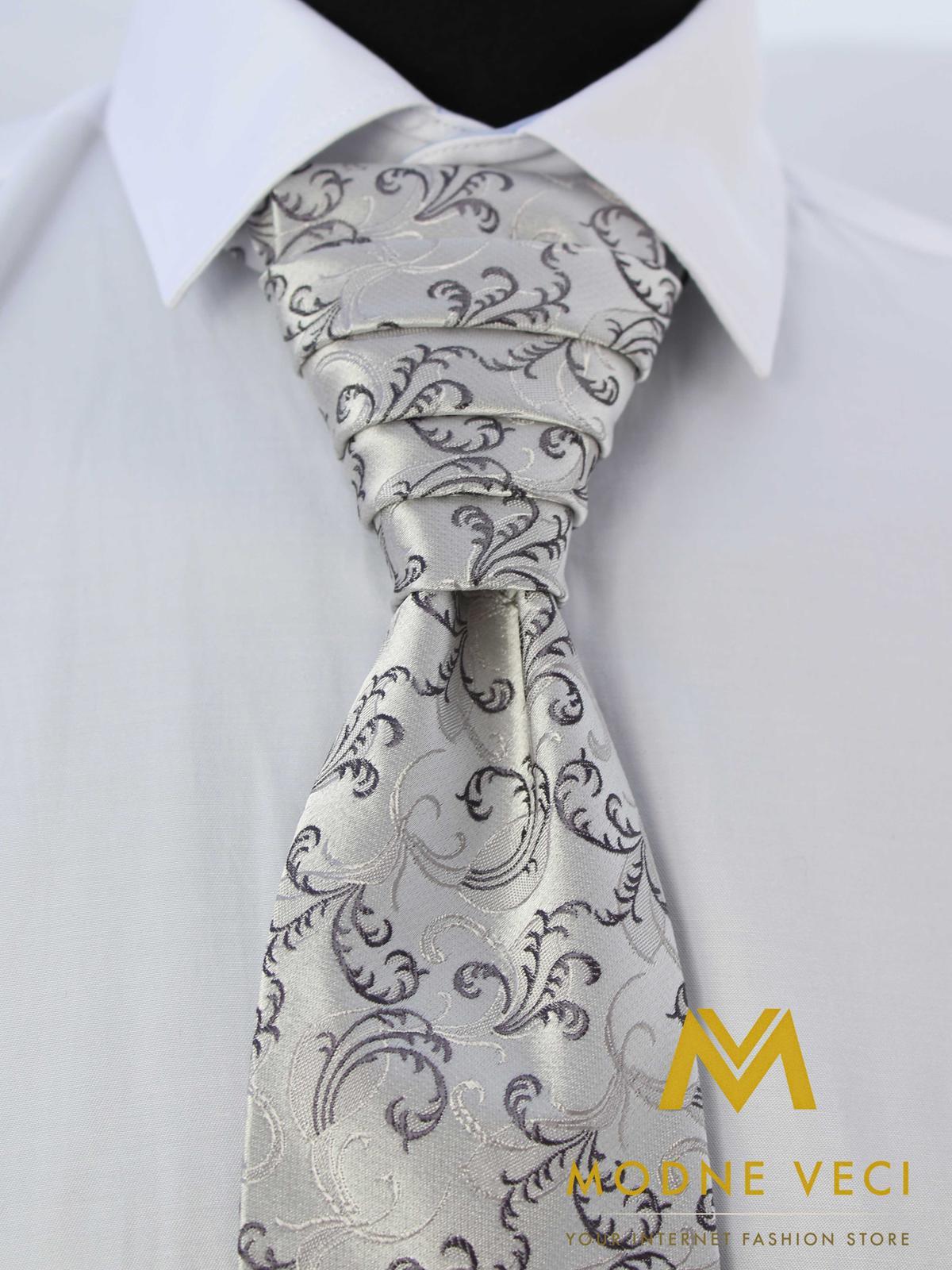 Francúzska kravata skladom model 20 - Obrázok č. 3