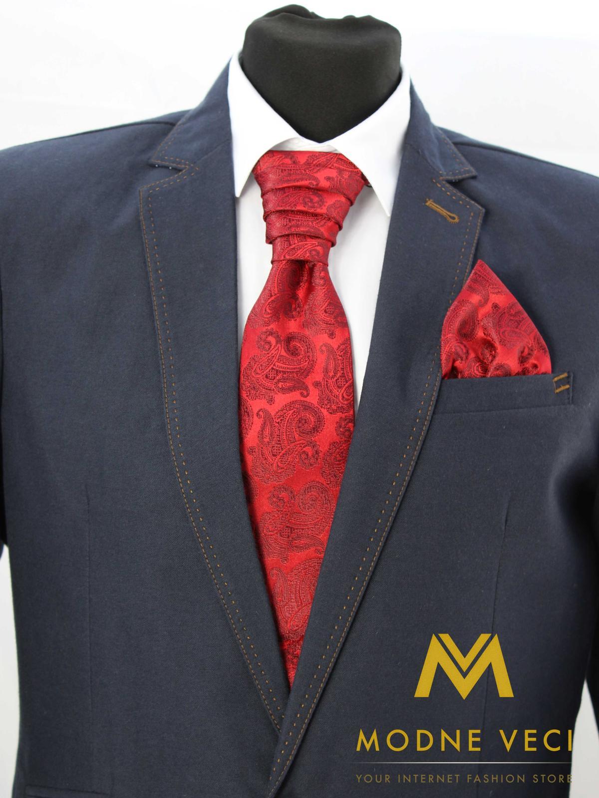Francúzska kravata skladom model 21 - Obrázok č. 1