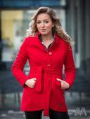 Luxusný dámsky kabát, 38