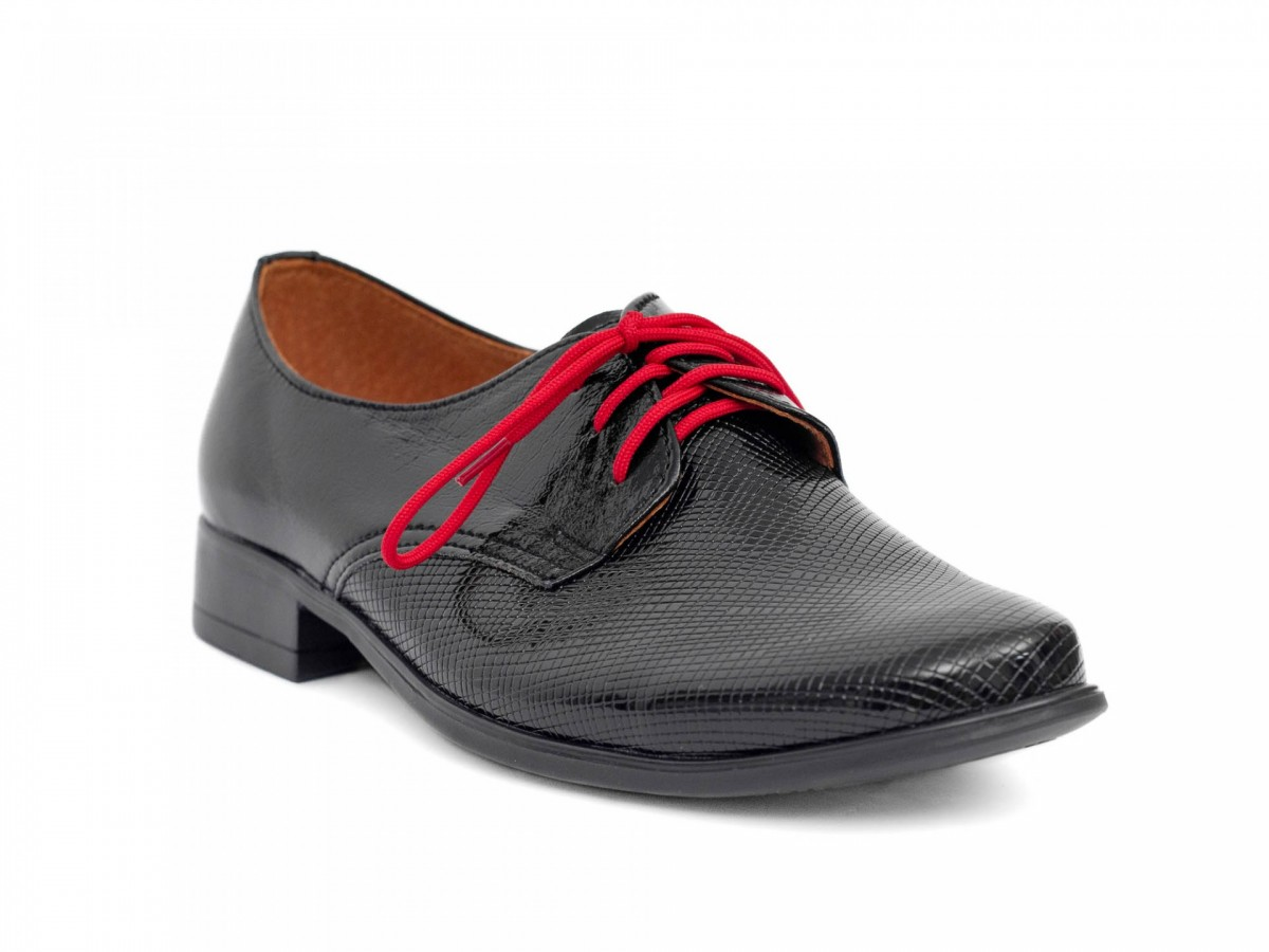 Chlapčenské detské spoločenské kožené topánky 99A  - Obrázok č. 2
