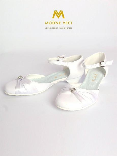 Dievčenské topánky na 1. sv. prijímanie biele 90 - Obrázok č. 1