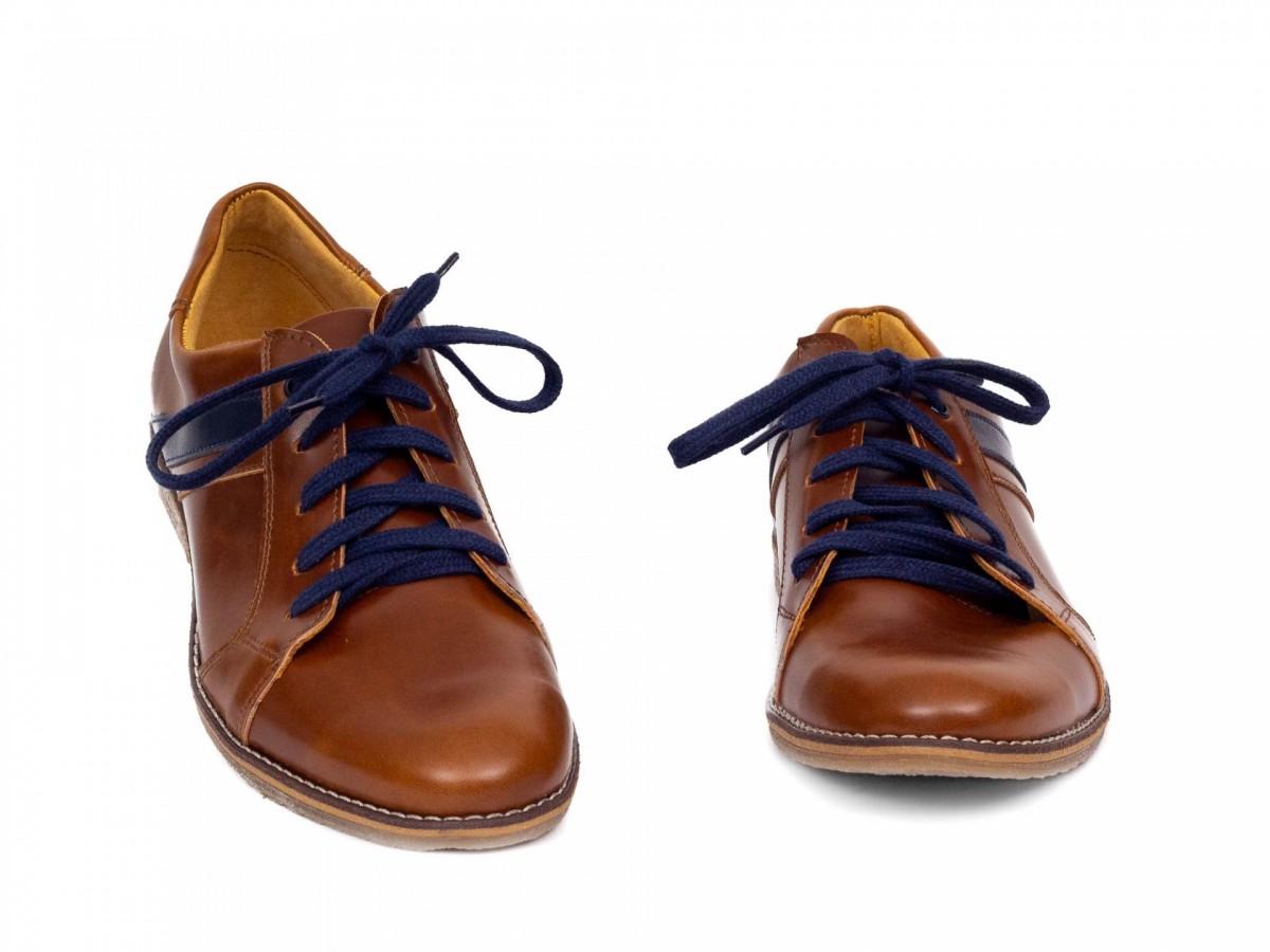Chlapčenské detské kožené topánky 303 hnedé - Obrázok č. 3