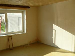 Pro nás to bude ložnic, největší mísntost v bytě, zde PŘED