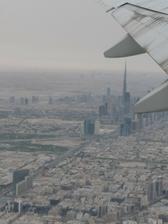 fotky z letadla- Dubai