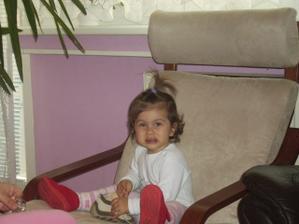 moja najkrajsia druzicka, neterka Bianca, uz ma ale 3 rocky - je to starsia foto
