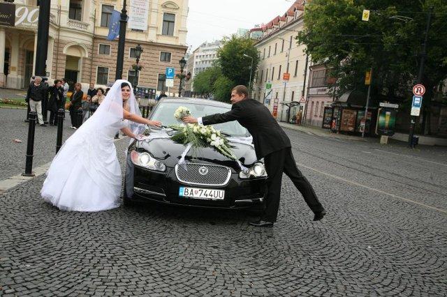 Ivetka{{_AND_}}Stanko - svad. autíčko