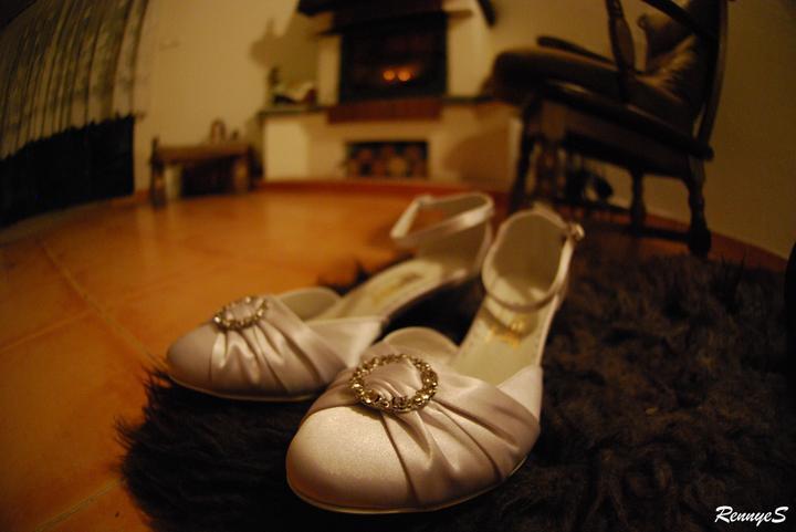 Přípravy - Moje botky =) jsou doma...