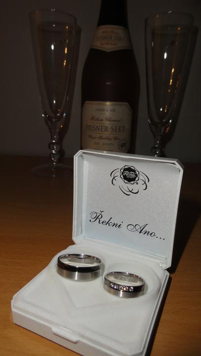 Přípravy - Prsteny jsou doma... =)