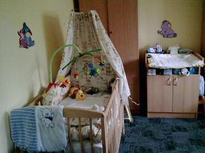tahle to v pokojíku vypadalo, když se Honzík narodil
