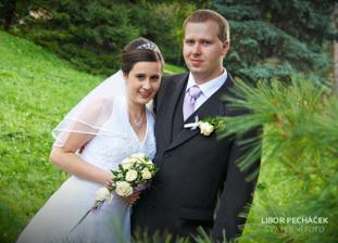 novomanželé Olivíkovi