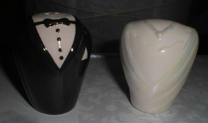 """""""Keby som sa mohla odviazať, moja svadba snov by vyzerala takto..."""" - Naozaj štýlová korenička so soľničkou"""