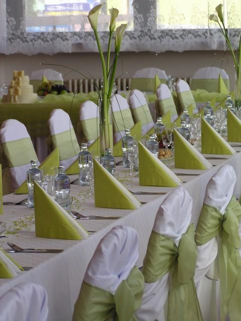 Zelená svatba - bude zelená vyzdoba
