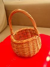 košíček pro drůžičku, ještě nenazdobený