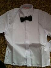 Košile s motýlkem pro synovečka