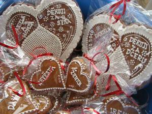 dárečky pro svatebčany...