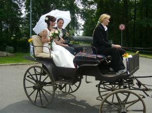 romantická projížďka