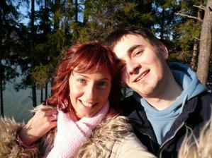 my dva na výletě v Luhačovicích