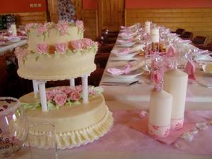 a náš dortík