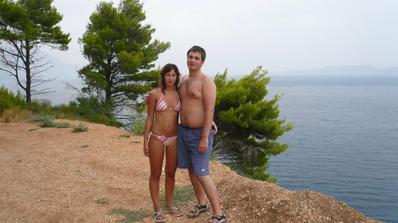 a ze svatební cesty z Chorvatska z Pisaku