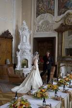 interiéry zámku jsou opravdu nádherné