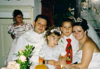 A toto sú sestrine deti, teda moje krstné detičky Vaneska a Paťko