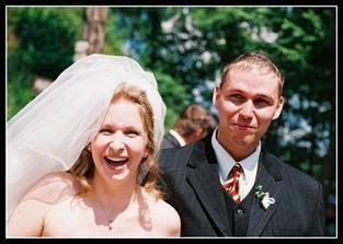 Záskok za ženicha (můj úžasný bratránek), ženich se ztratil :-)