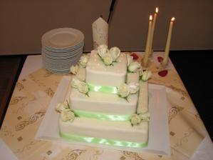 Náš dortíček - vlastně pořádný dort!